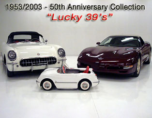 Corvettes on YouTube | 50th Anniersary Corvette Collection